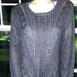 ‼️3/50.00 Lovely Loose Knit Sweater Warm&Stylish